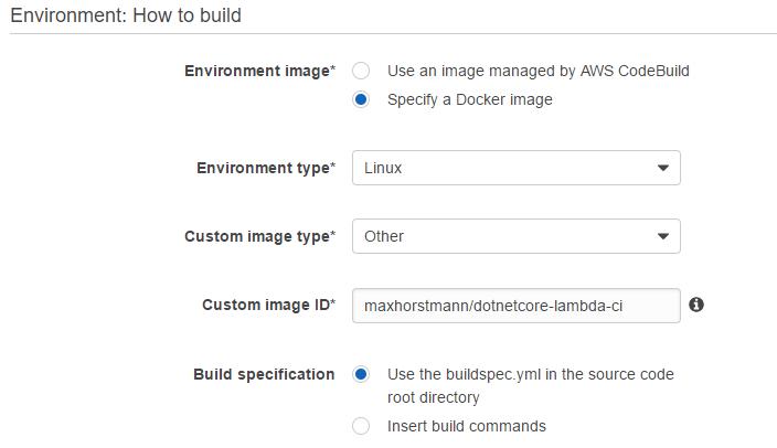 Continuous Integration: C# to AWS Lambda – Max Horstmann's